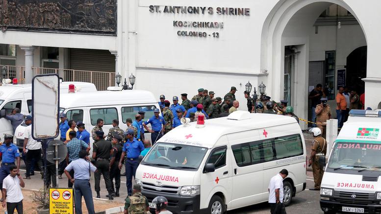 Μακελειό στη Σρι Λάνκα με 156 νεκρούς και 400 τραυματίες