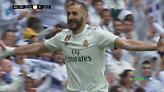 Τα δύο γκολ του Μπενζεμά στον αγώνα της Ρεάλ Μαδρίτης με την Μπιλμπάο (video)