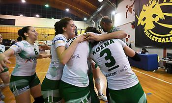 Νίκησαν την ΑΕΚ και επέστρεψαν στη Volleyleague τα κορίτσια του Παναθηναϊκού