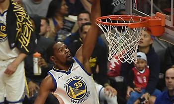 NBA playoffs: Ο Ντουράντ ξεπέρασε τον Ολάζουον και ανεβαίνει στη λίστα των σκόρερ! (video)