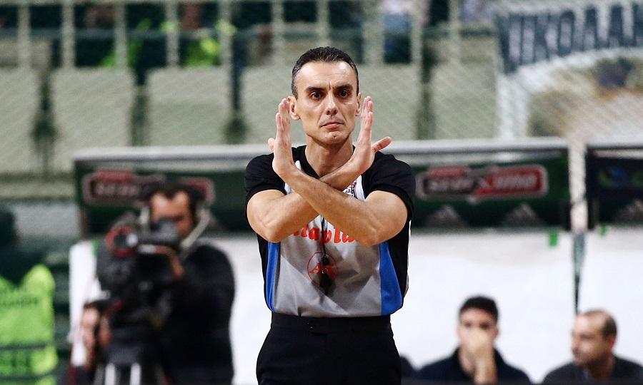 Σφυρίζει στο Παγκόσμιο κύπελλο μπάσκετ ο Πουρσανίδης
