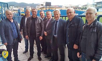 Συνάντηση Παναιτωλικού με τον υποψήφιο περιφερειάρχη Δυτικής Ελλάδας