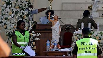 Στους 310 ο αριθμός των νεκρών από τις επιθέσεις στη Σρι Λάνκα