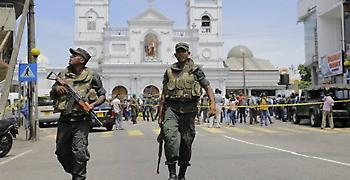 Αντίποινα για το Κράιστσερτς το μπαράζ βομβιστικών επιθέσεων στη Σρι Λάνκα