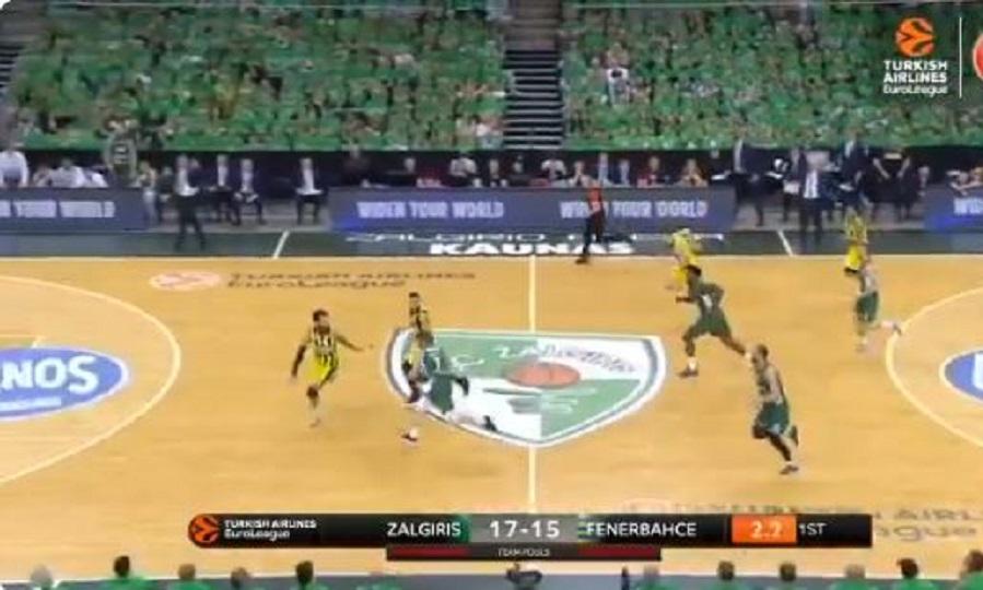 Γουόκαπ… at the buzzer στο Ζαλγκίρις-Φενέρ (video)