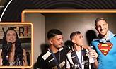Το δώρο των παικτών του ΠΑΟΚ στην Πάολα, που την έκανε να συγκινηθεί (vid)