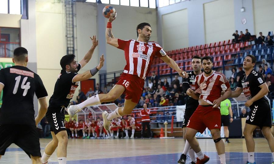 Σβηστά στα ημιτελικά της Handball Premier ο Ολυμπιακός