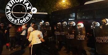 Θεσσαλονίκη: Επεισόδια στην πορεία για τη γενοκτονία των Αρμενίων