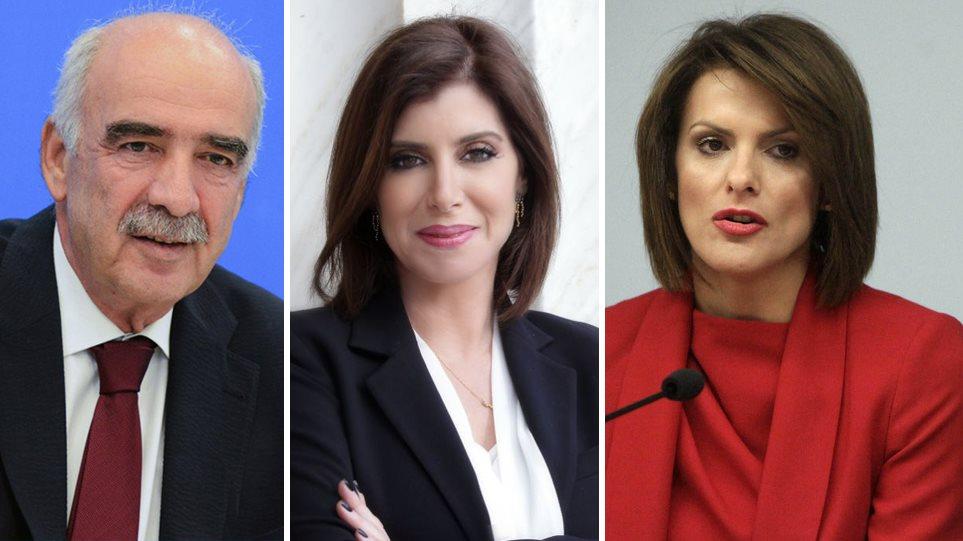 Παραιτήθηκαν από βουλευτές Μεϊμαράκης, Ασημακοπούλου, Μάρκου-Είναι υποψήφιοι ευρωβουλευτές με τη ΝΔ