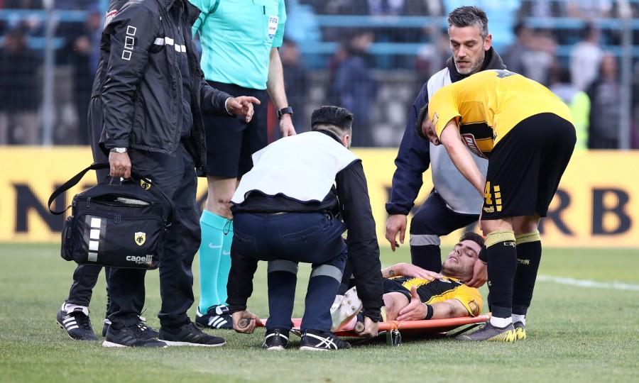 Η στιγμή του τραυματισμού του Μπογέ (video)