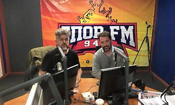 Τσάπας στον ΣΠΟΡ FM: «Μας πήρε από το χέρι ο Μαυροκεφαλίδης-Παίζουμε κανονικά όλα τα παιχνίδια»