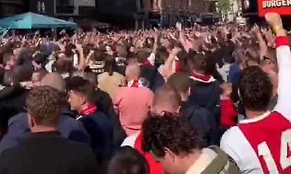 Έκαναν… απόβαση στην Αγγλία οι οπαδοί του Άγιαξ (video)