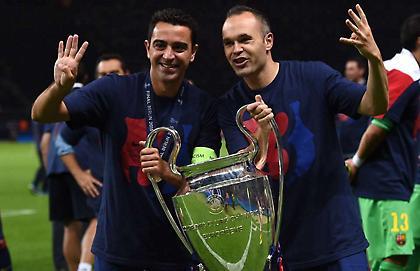 Ινιέστα: «Τσάβι, ευχαριστούμε για όσα δίδαξες στον κόσμο του ποδοσφαίρου»