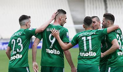 Σκόραρε ξανά ο Μακέντα, 3-0 ο Παναθηναϊκός