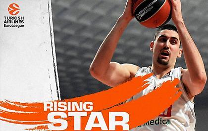 Rising Star της Ευρωλίγκας ο Μπιτάντζε