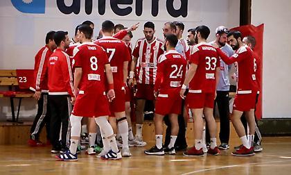 Στους τελικούς της Handball Premier ο Ολυμπιακός