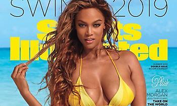 Κολάζει και στα 45 της η Tyra Banks (pics/video)
