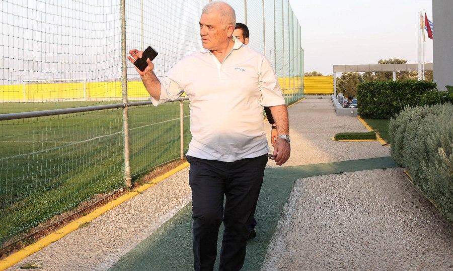 Στην προπόνηση της ΑΕΚ ο Μελισσανίδης!