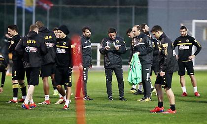 Τσακίρης: «Θέλουν να δώσουν απάντηση στον ΠΑΟΚ οι παίκτες της ΑΕΚ»