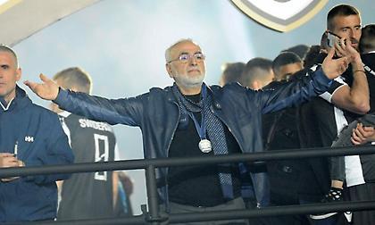 Στην Αθήνα για τον τελικό ο Σαββίδης