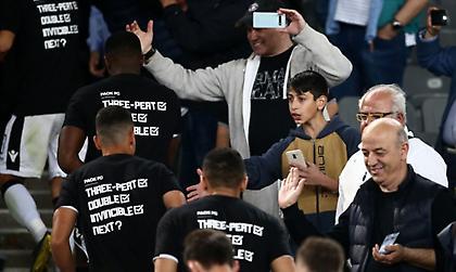 Το μήνυμα στις μπλούζες του ΠΑΟΚ (pics)