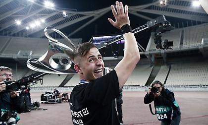 Πέλκας: «Το πιο ιστορικό Κύπελλο γιατί κάναμε νταμπλ, ελπίζω να το σηκώσω ως αρχηγός πολλές φορές»