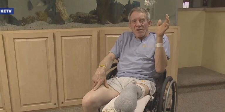 Αδιανόητο: Αμερικανός αγρότης ακρωτηρίασε το πόδι του με σουγιά, όταν παγιδεύτηκε σε μηχάνημα