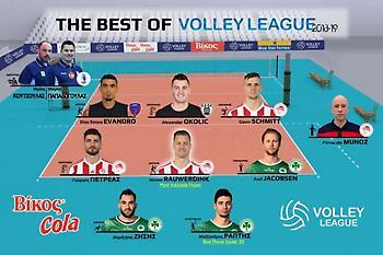 Ανακοινώθηκε η καλύτερη ομάδα της φετινής Volley League