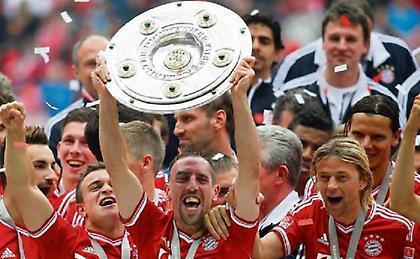 Ριμπερί, ο πολυνίκης της Bundesliga
