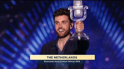 Eurovision 2019: Η στιγμή της ανακοίνωσης της νίκης της Ολλανδίας (video)
