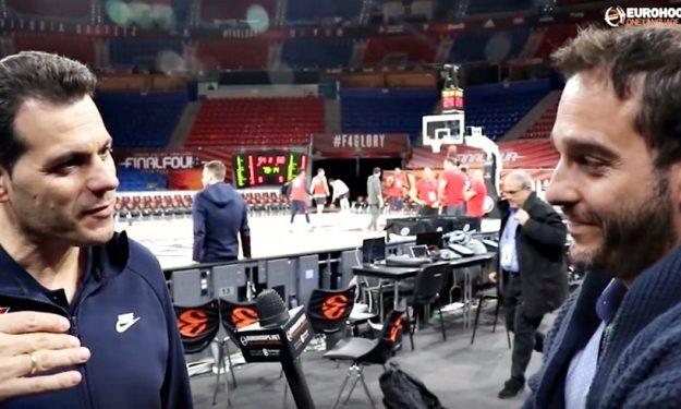 Video: Ο Δημήτρης Ιτούδης χαλάρωσε με… Eurohoops πριν τον μεγάλο τελικό!