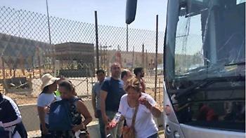 Αίγυπτος: 12 τραυματίες από έκρηξη σε λεωφορείο κοντά στις Πυραμίδες