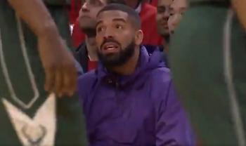 Ο Drake την είπε στον Γιάννη κι αυτός τον αγνόησε (video)