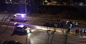Κρήτη: Σοβαρό τροχαίο με δύο τραυματίες