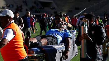 Κατέρρευσε στο γήπεδο διαιτητής στη Βολιβία και «έσβησε»