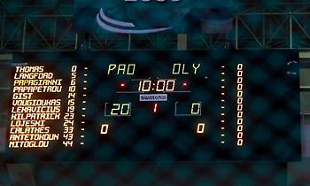 Νικητής με σκορ 20-0 ο Παναθηναϊκός και μηδενισμός για τον Ολυμπιακό!
