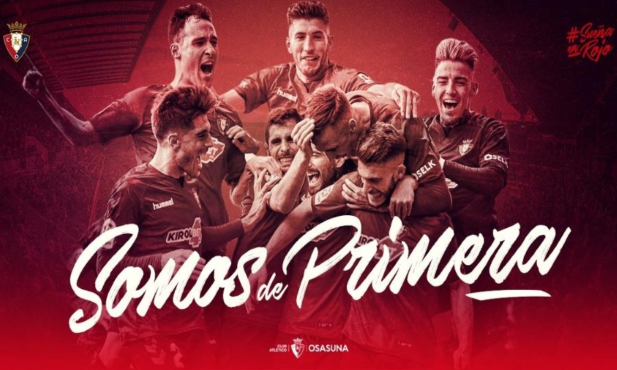 Προβιβάστηκε στη La Liga η Οσασούνα!