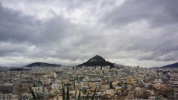 Καιρός: Συννεφιά με πιθανότητα βροχής και αφρικανική σκόνη