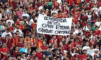 Οι οπαδοί της Ρόμα γεμίζουν το «Ολίμπικο» για χάρη του Ντε Ρόσι!
