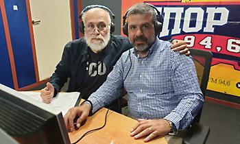 Ο υποψήφιος δημοτικός σύμβουλος με τον «Πειραιά Νικητή», Μύρων Σπιθάκης στον ΣΠΟΡ FM 94,6