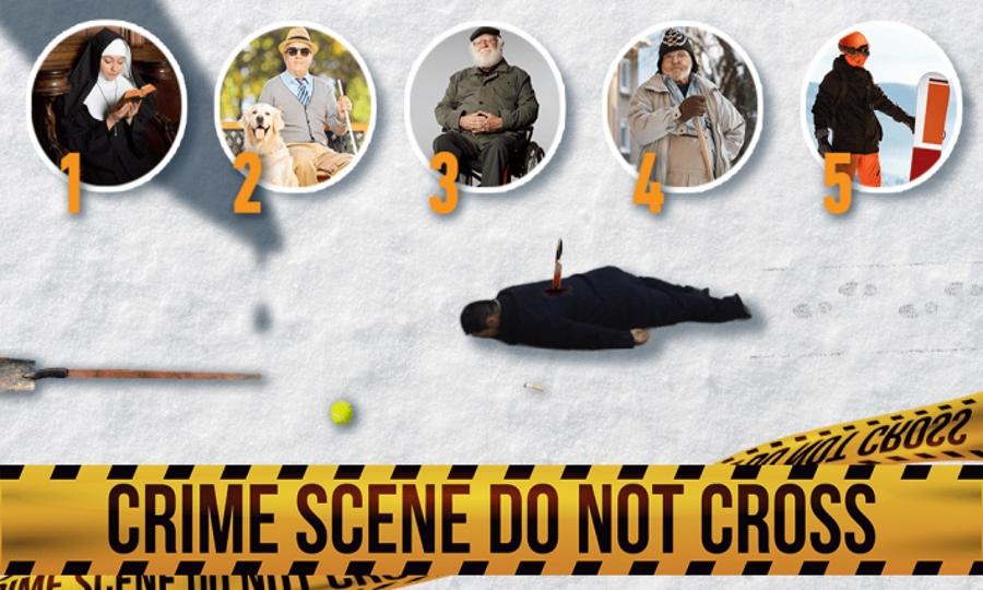 5 ύποπτοι, 1 δολοφόνος: Μπορείς να βρεις στη φωτό το λάθος που τον πρόδωσε;