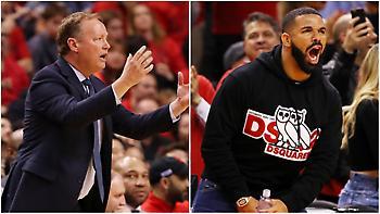 Μπαντενχόλζερ για Drake: «Δεν μπορεί οι φίλαθλοι να... σουλατσάρουν μέσα στο γήπεδο»