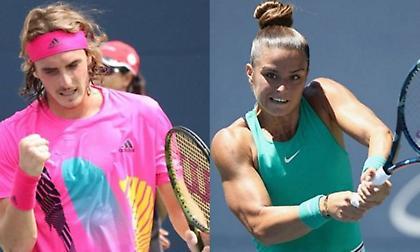 Με Μάρτερερ ο Τσιτσιπάς, με Τατισβίλι η Σάκκαρη στο Roland Garros
