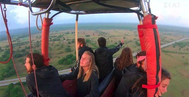 Survivor: Βόλτα με αερόστατο για τη Μαύρη ομάδα – Επίθεση πτηνού στη Δαλάκα
