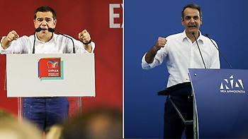 Ευρωεκλογές: Σε Αθήνα-Θεσσαλονίκη η τελευταία «μάχη της πλατείας» με το βλέμμα στις δημοσκοπήσεις
