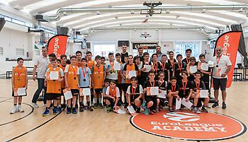 EuroLeague Academy: Σε κλίμα ενθουσιασμού ο μεγάλος τελικός στο Eurohoops Dome! (pics)