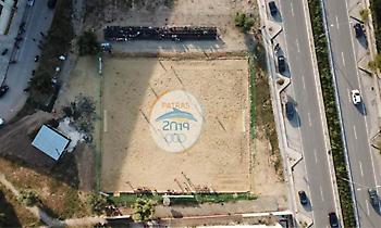 Η πρώτη εγκατάσταση για τους Μεσογειακούς Παράκτιους Αγώνες της Πάτρας είναι γεγονός (pics)