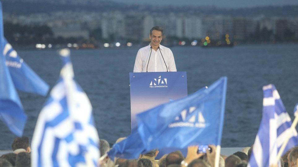 Μητσοτάκης από Θεσσαλονίκη: «Καθαρή λύση με καθαρό αποτέλεσμα για τη μεγάλη πολιτική αλλαγή»