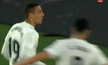 Δεύτερο γκολ η Βαλένθια, στα… σχοινιά η Μπαρτσελόνα (video)