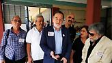 Εκλογές 2019: Ψήφισε ο Λαφαζάνης - «Να διαψεύσουμε τις ψευτοδημοσκοπήσεις»